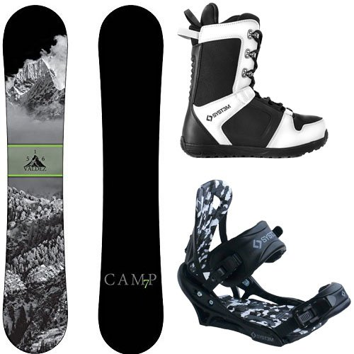 スノーボード ウィンタースポーツ キャンプセブン 2017年モデル2018年モデル多数 Camp Seven Package Valdez CRC Snowboard-156 cm-System APX Bindings-System APX Snowboard Boots 8スノーボード ウィンタースポーツ キャンプセブン 2017年モデル2018年モデル多数