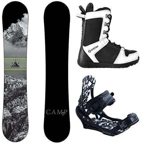 スノーボード ウィンタースポーツ キャンプセブン 2017年モデル2018年モデル多数 Camp Seven Package Valdez CRC Snowboard-156 cm-System APX Bindings-System APX Snowboard Boots 12スノーボード ウィンタースポーツ キャンプセブン 2017年モデル2018年モデル多数