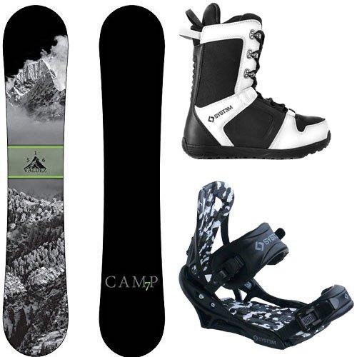 スノーボード ウィンタースポーツ キャンプセブン 2017年モデル2018年モデル多数 Camp Seven Package Valdez CRC Snowboard-163 cm Wide-System APX Bindings-System APX Snowboard Bootsスノーボード ウィンタースポーツ キャンプセブン 2017年モデル2018年モデル多数