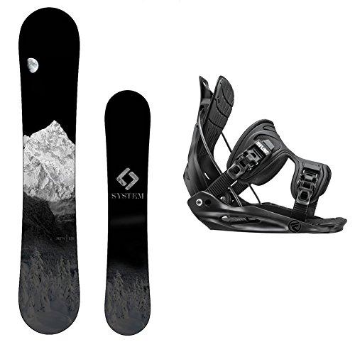 スノーボード ウィンタースポーツ システム 2017年モデル2018年モデル多数 Package-System MTN CRCX Snowboard-163 cm Wide-Flow Alpha MTN Snowboard Bindings-Largeスノーボード ウィンタースポーツ システム 2017年モデル2018年モデル多数