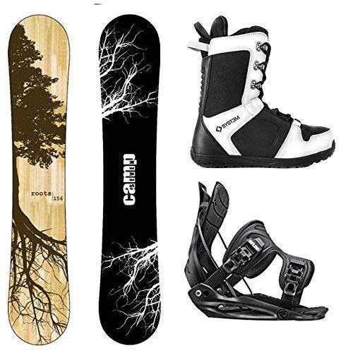 スノーボード ウィンタースポーツ キャンプセブン 2017年モデル2018年モデル多数 Camp Seven Package Roots CRC Snowboard-163 cm Wide-Flow Alpha MTN Snowboard Bindings-Medium-Systemスノーボード ウィンタースポーツ キャンプセブン 2017年モデル2018年モデル多数