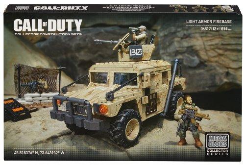 メガブロック コールオブデューティ メガコンストラックス 組み立て 知育玩具 DCL23 Mega Bloks Call of Duty Light Armor Firebase, Model 06817, 514 Pieceメガブロック コールオブデューティ メガコンストラックス 組み立て 知育玩具 DCL23