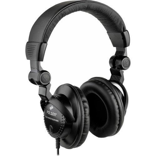 DJヘッドホン ヘッドフォン 海外 輸入 HPCA30 Polsen HPC-A30 Closed-Back Studio Monitor HeadphonesDJヘッドホン ヘッドフォン 海外 輸入 HPCA30