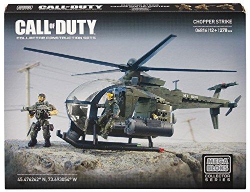 メガブロック コールオブデューティ メガコンストラックス 組み立て 知育玩具 DCL24 【送料無料】Mega Bloks Call of Duty Chopper Strike, Model 06816, 278 Piece (Discontinuメガブロック コールオブデューティ メガコンストラックス 組み立て 知育玩具 DCL24