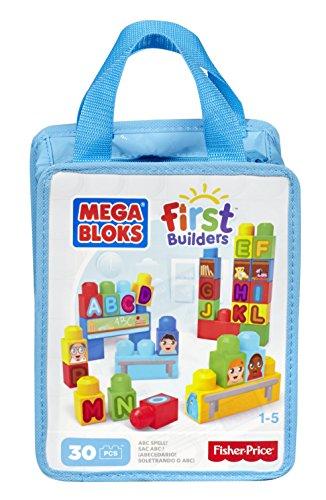 メガブロック メガコンストラックス 組み立て 知育玩具 DCH38 Mega Bloks First Builders ABC Spell 30-Piece (Bag)メガブロック メガコンストラックス 組み立て 知育玩具 DCH38
