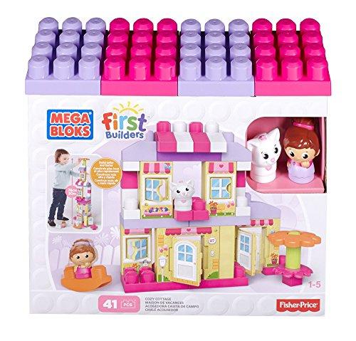 メガブロック メガコンストラックス 組み立て 知育玩具 CNG26 Mega Bloks First Builders Cozy Cottage Building Setメガブロック メガコンストラックス 組み立て 知育玩具 CNG26