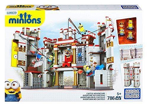 メガブロック メガコンストラックス ミニオンズ 組み立て 知育玩具 CNT39 Mega Bloks Despicable Me Castle Adventureメガブロック メガコンストラックス ミニオンズ 組み立て 知育玩具 CNT39
