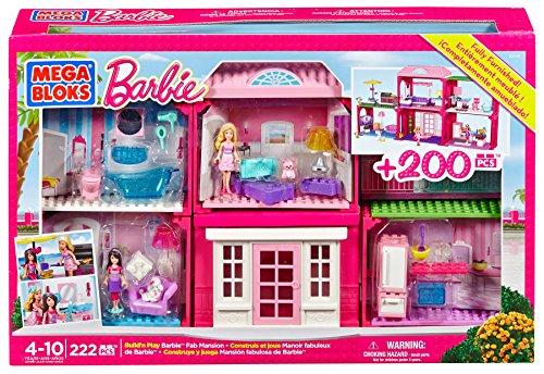 メガブロック バービー 組み立て 知育玩具 CXP54 【送料無料】Mega Bloks Barbie Fab Mansionメガブロック バービー 組み立て 知育玩具 CXP54
