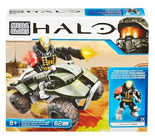メガブロック メガコンストラックス ヘイロー 組み立て 知育玩具 DBB00 Mega Bloks Halo UNSC All-Terrain Mongooseメガブロック メガコンストラックス ヘイロー 組み立て 知育玩具 DBB00