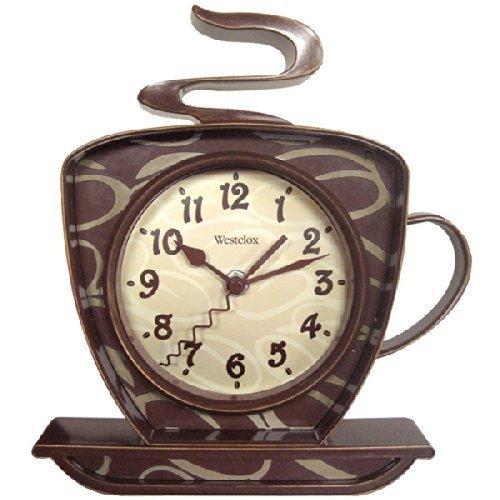 壁掛け時計 インテリア インテリア 海外モデル アメリカ 【送料無料】WESTCLOX 32038 Coffee Time 3-Dimensional Wall Clock by Westclox壁掛け時計 インテリア インテリア 海外モデル アメリカ