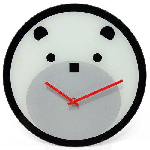 壁掛け時計 インテリア インテリア 海外モデル アメリカ 14143 Infinity Instruments 14143 Bearly Time 12-Inch Glass Wall Clock壁掛け時計 インテリア インテリア 海外モデル アメリカ 14143