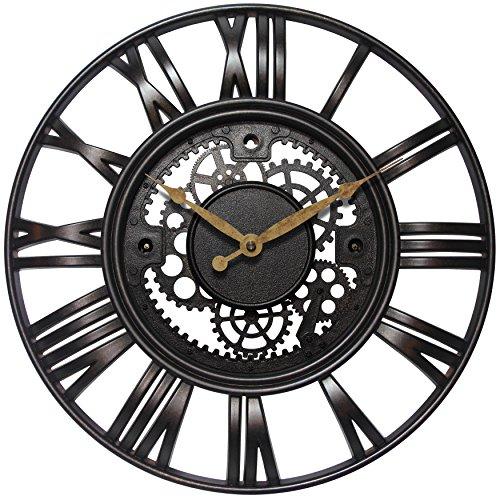 壁掛け時計 インテリア インテリア 海外モデル アメリカ 15114RS Infinity Instruments Roman Gear Clock, Rust壁掛け時計 インテリア インテリア 海外モデル アメリカ 15114RS