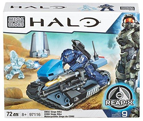 メガブロック メガコンストラックス ヘイロー 組み立て 知育玩具 97116 【送料無料】Mega Bloks Halo UNSC Seige Bikeメガブロック メガコンストラックス ヘイロー 組み立て 知育玩具 97116