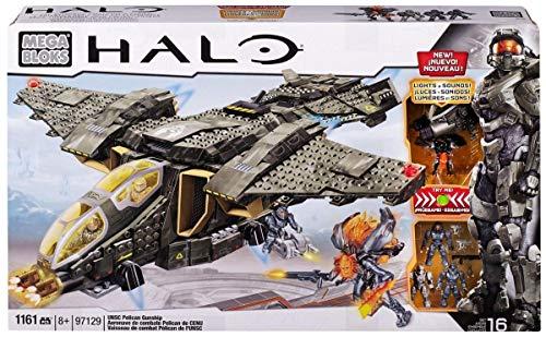 メガブロック メガコンストラックス ヘイロー 組み立て 知育玩具 CXL15 【送料無料】Mega Bloks Halo UNSC Pelican Gunshipメガブロック メガコンストラックス ヘイロー 組み立て 知育玩具 CXL15