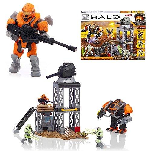 メガブロック メガコンストラックス ヘイロー 組み立て 知育玩具 【送料無料】Mega Bloks, Halo, Containment Outpost Patrol (97515)メガブロック メガコンストラックス ヘイロー 組み立て 知育玩具
