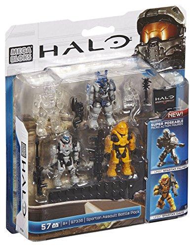 メガブロック メガコンストラックス ヘイロー 組み立て 知育玩具 DBB01 Mega Bloks Halo Spartan Assault Battle Packメガブロック メガコンストラックス ヘイロー 組み立て 知育玩具 DBB01
