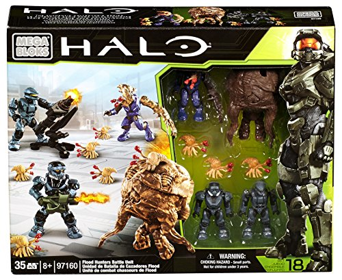 メガブロック メガコンストラックス ヘイロー 組み立て 知育玩具 CXL10 Mega Bloks Halo Flood Hunters Battle Unitメガブロック メガコンストラックス ヘイロー 組み立て 知育玩具 CXL10