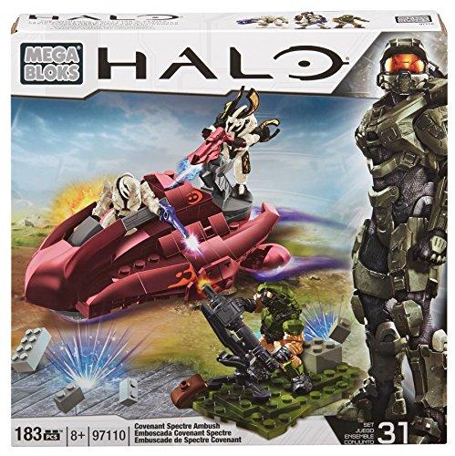 メガブロック メガコンストラックス ヘイロー 組み立て 知育玩具 DBB89 Mega Bloks Halo Covenant Spectre Ambushメガブロック メガコンストラックス ヘイロー 組み立て 知育玩具 DBB89