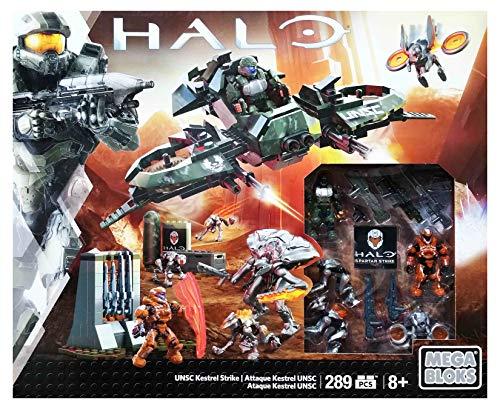 メガブロック メガコンストラックス ヘイロー 組み立て 知育玩具 Mega Construx Halo UNSC Kestrel Strike Exclusive Building Setメガブロック メガコンストラックス ヘイロー 組み立て 知育玩具