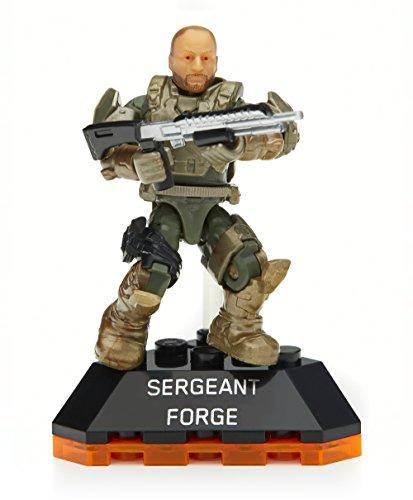 メガブロック メガコンストラックス ヘイロー 組み立て 知育玩具 DPJ77 【送料無料】Mega Construx Halo Heroes Series 2 Sergeant Forge Figure #1メガブロック メガコンストラックス ヘイロー 組み立て 知育玩具 DPJ77