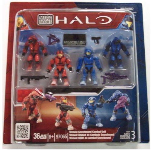 メガブロック メガコンストラックス ヘイロー 組み立て 知育玩具 97065 Halo Universe Exclusive Mega Bloks Set #97065 Versus Snowbound Combat Unitメガブロック メガコンストラックス ヘイロー 組み立て 知育玩具 97065