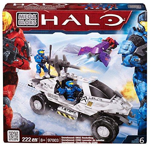 メガブロック メガコンストラックス ヘイロー 組み立て 知育玩具 CXL36 Mega Bloks Halo Snowbound UNSC Rockethogメガブロック メガコンストラックス ヘイロー 組み立て 知育玩具 CXL36