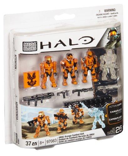 メガブロック メガコンストラックス ヘイロー 組み立て 知育玩具 97083 Halo Mega Bloks Set #97083 UNSC Combat Orange Unitメガブロック メガコンストラックス ヘイロー 組み立て 知育玩具 97083
