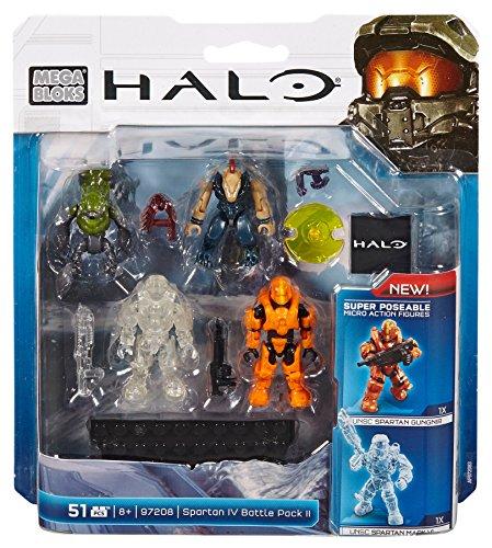メガブロック メガコンストラックス ヘイロー 組み立て 知育玩具 DBB44 Mega Bloks, Halo, Spartan IV Battle Pack II (97208)メガブロック メガコンストラックス ヘイロー 組み立て 知育玩具 DBB44