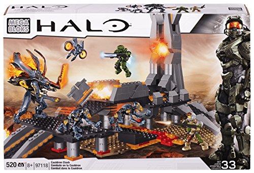 メガブロック メガコンストラックス ヘイロー 組み立て 知育玩具 CXL17 Mega Bloks Halo Cauldron Clashメガブロック メガコンストラックス ヘイロー 組み立て 知育玩具 CXL17