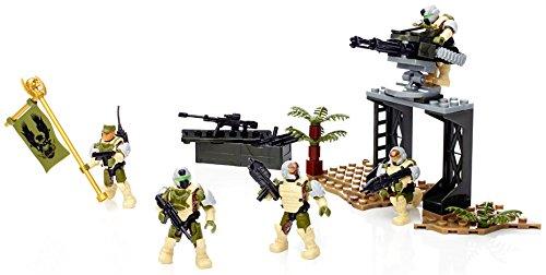 メガブロック メガコンストラックス ヘイロー 組み立て 知育玩具 CND01 【送料無料】Mega Bloks Halo UNSC Sierra Squad Building Kit (155 Pcs)メガブロック メガコンストラックス ヘイロー 組み立て 知育玩具 CND01