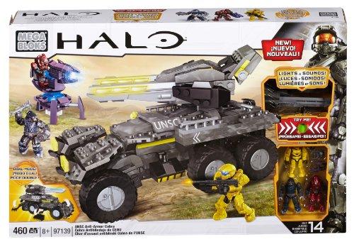 メガブロック メガコンストラックス ヘイロー 組み立て 知育玩具 CXL12 Mega Bloks Halo UNSC Anti-Armor Cobraメガブロック メガコンストラックス ヘイロー 組み立て 知育玩具 CXL12