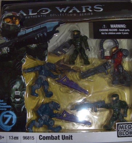 メガブロック メガコンストラックス ヘイロー 組み立て 知育玩具 【送料無料】Halo Wars Mega Bloks Exclusive Set #7 Combat Unit [Contains 5 Mini Figures!]メガブロック メガコンストラックス ヘイロー 組み立て 知育玩具