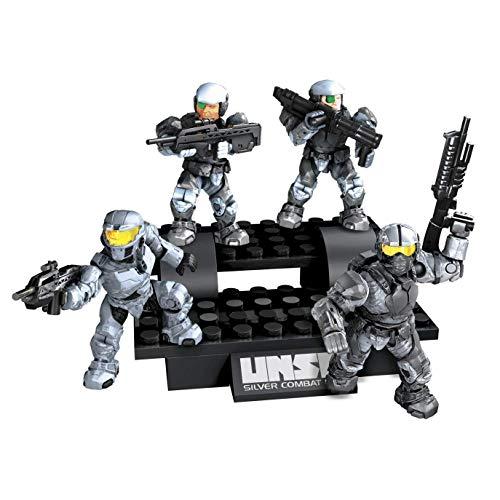 メガブロック メガコンストラックス ヘイロー 組み立て 知育玩具 96911 【送料無料】Halo UNSC Silver Combat Unitメガブロック メガコンストラックス ヘイロー 組み立て 知育玩具 96911