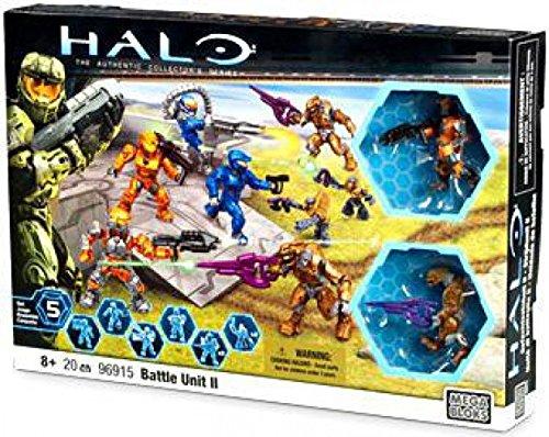 メガブロック メガコンストラックス ヘイロー 組み立て 知育玩具 96915 Mega Bloks Halo 96915 Battle Unit II - Set of 8 Mini-figures with 8 Weaponsメガブロック メガコンストラックス ヘイロー 組み立て 知育玩具 96915