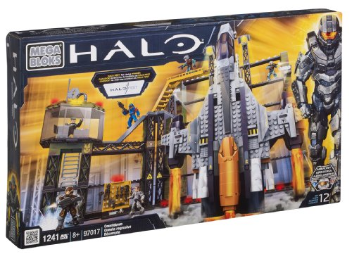 メガブロック メガコンストラックス ヘイロー 組み立て 知育玩具 97017 【送料無料】Mega Bloks Halo Countdownメガブロック メガコンストラックス ヘイロー 組み立て 知育玩具 97017