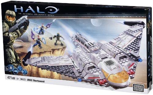 メガブロック メガコンストラックス ヘイロー 組み立て 知育玩具 96835 【送料無料】Mega Bloks Halo 10th Anniversary UNSC Shortsword 471 pcs Setメガブロック メガコンストラックス ヘイロー 組み立て 知育玩具 96835