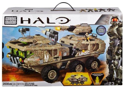 メガブロック メガコンストラックス ヘイロー 組み立て 知育玩具 CXL08 Mega Bloks Halo UNSC Mammoth Vehicleメガブロック メガコンストラックス ヘイロー 組み立て 知育玩具 CXL08