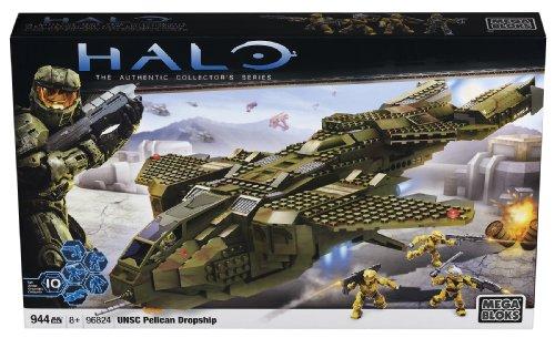 メガブロック メガコンストラックス ヘイロー 組み立て 知育玩具 96824 【送料無料】Mega Bloks Halo UNSC Pelican Dropshipメガブロック メガコンストラックス ヘイロー 組み立て 知育玩具 96824