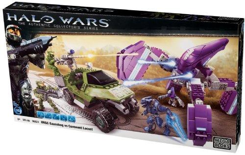 メガブロック メガコンストラックス ヘイロー 組み立て 知育玩具 96823 Mega Bloks Halo Wars UNSC Gausshog vs. Covenant Locustメガブロック メガコンストラックス ヘイロー 組み立て 知育玩具 96823