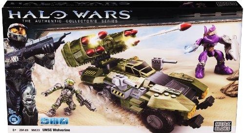 メガブロック メガコンストラックス ヘイロー 組み立て 知育玩具 96833U 【送料無料】Megabloks Halo UNSC Wolverine (Green)メガブロック メガコンストラックス ヘイロー 組み立て 知育玩具 96833U