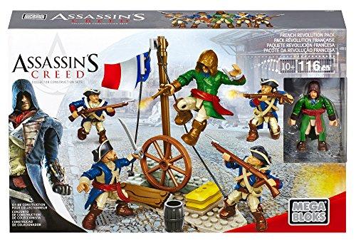 メガブロック メガコンストラックス アサシンクリード 組み立て 知育玩具 CNC64 Mega Bloks Assassin's Creed French Revolution Battalion Building Kitメガブロック メガコンストラックス アサシンクリード 組み立て 知育玩具 CNC64