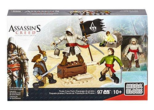 メガブロック メガコンストラックス アサシンクリード 組み立て 知育玩具 CNK22 Mega Bloks Assassin's Creed Pirate Crew Packメガブロック メガコンストラックス アサシンクリード 組み立て 知育玩具 CNK22
