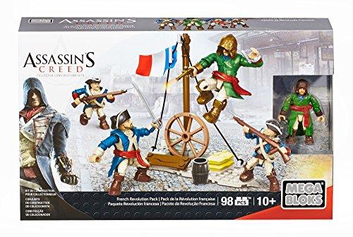 メガブロック メガコンストラックス アサシンクリード 組み立て 知育玩具 CNK24 【送料無料】Mega Bloks Assassin's Creed French Revolution Packメガブロック メガコンストラックス アサシンクリード 組み立て 知育玩具 CNK24
