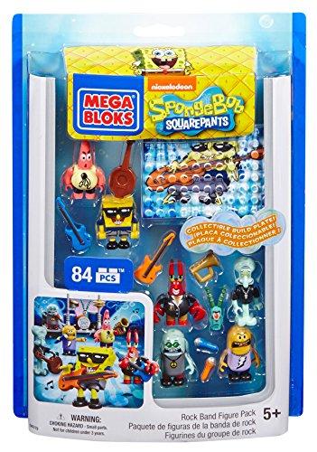 メガブロック スポンジボブ 組み立て 知育玩具 DBH82 【送料無料】Mega Bloks SpongeBob Rock Band Figure Packメガブロック スポンジボブ 組み立て 知育玩具 DBH82