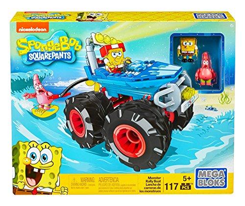 メガブロック スポンジボブ 組み立て 知育玩具 DKT71 Mega Bloks SpongeBob SquarePants Monster Rally Boatメガブロック スポンジボブ 組み立て 知育玩具 DKT71
