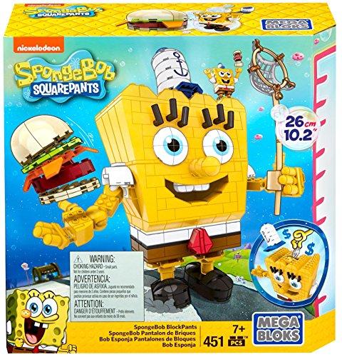 メガブロック スポンジボブ 組み立て 知育玩具 DPH70 Mega Bloks SpongeBob SquarePants Block Construction Setメガブロック スポンジボブ 組み立て 知育玩具 DPH70