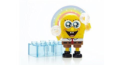メガブロック スポンジボブ 組み立て 知育玩具 Spongebob Squarepants Mega Bloks series 3 Minifigure SpongeBob Imaginationメガブロック スポンジボブ 組み立て 知育玩具