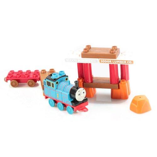 メガブロック きかんしゃトーマス トーマス&フレンズ 組み立て 知育玩具 10601 【送料無料】Thomas & Friends Thomas and Wagonメガブロック きかんしゃトーマス トーマス&フレンズ 組み立て 知育玩具 10601