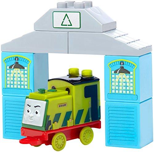 メガブロック きかんしゃトーマス トーマス&フレンズ 組み立て 知育玩具 DCB20 Mega Bloks Thomas & Friends Scruff Buildable Engine Toy Figureメガブロック きかんしゃトーマス トーマス&フレンズ 組み立て 知育玩具 DCB20