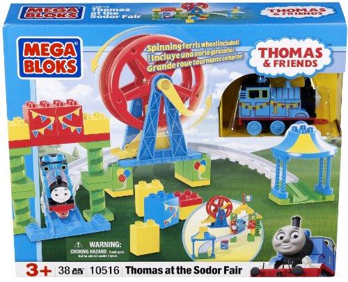 メガブロック きかんしゃトーマス トーマス&フレンズ 組み立て 知育玩具 10516U Mega Bloks Thomas at the Sodor Fairメガブロック きかんしゃトーマス トーマス&フレンズ 組み立て 知育玩具 10516U